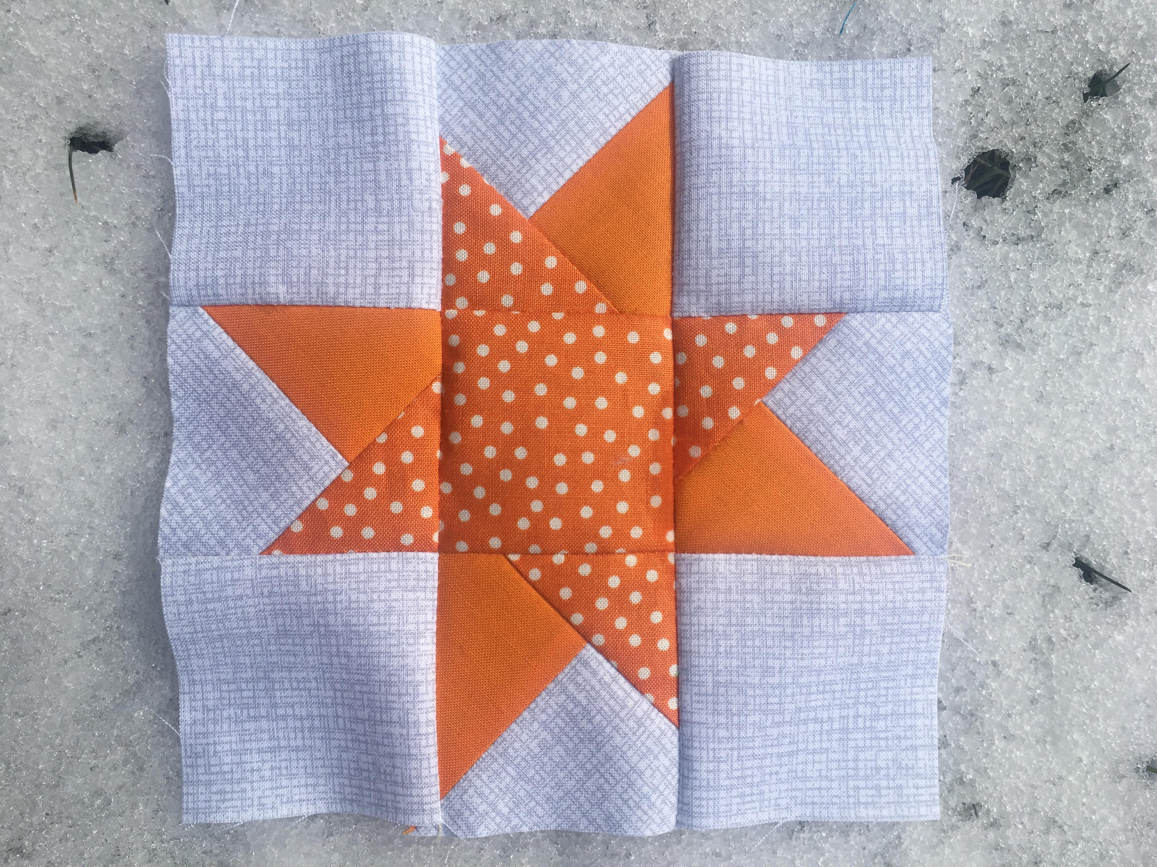 2018-03-30 Wonky Star orange