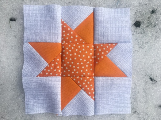 2018-03-30 Wonky Star orange