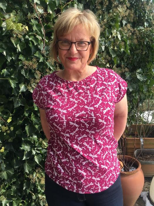 Kimono-T-Shirt – Nähen zieht an